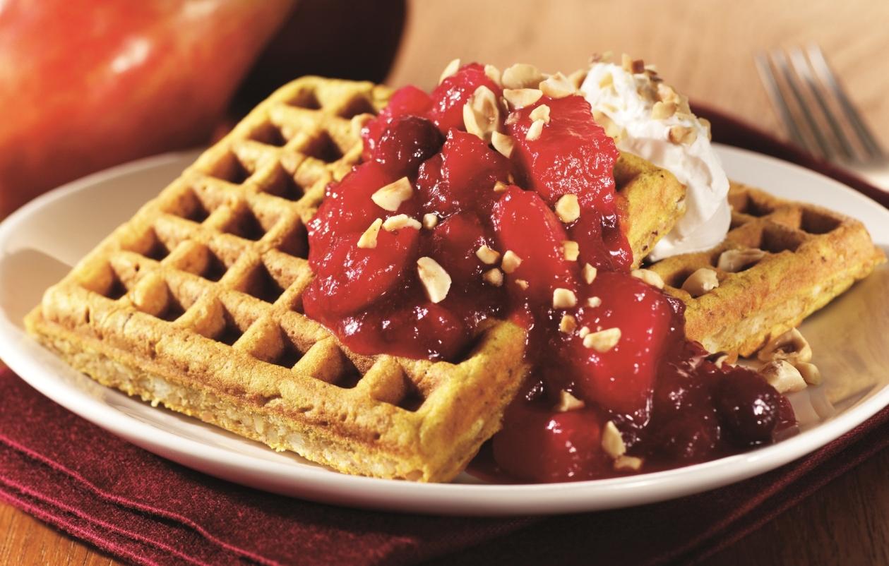 Hazelnut Waffles - Oregon Hazelnut Industry